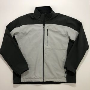 The North Face Gray Fleece Lined Jacket
